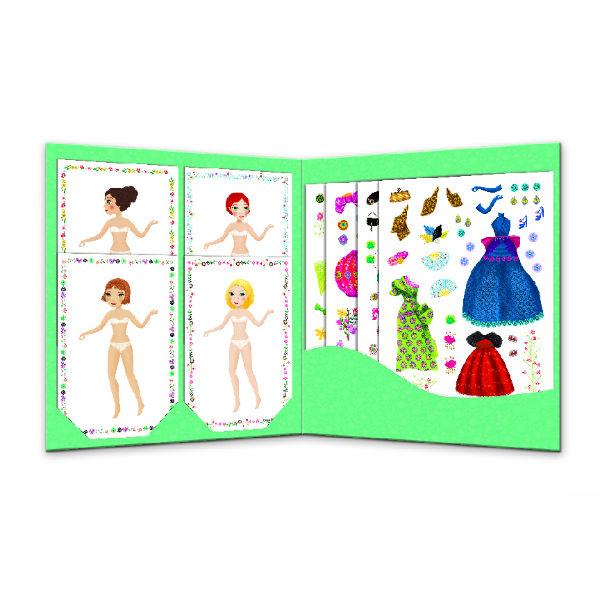 Djeco DJ09691 Paper Dolls Massive Fashion inside