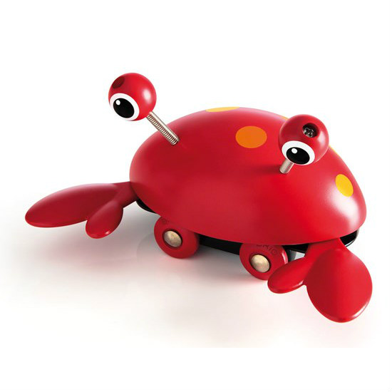 brio push along crab