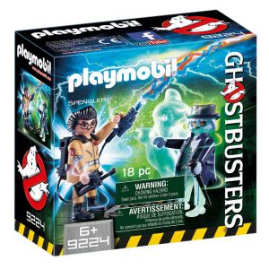 playmobil 9224 spengler and ghost