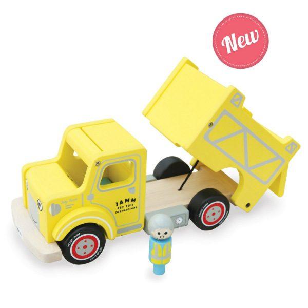 indigo jamm toby truck wooden truck