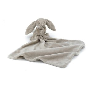 jellycat bashful beige bunny soother open