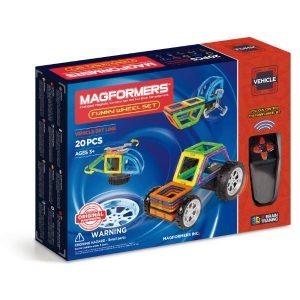 magformers funny wheel set box