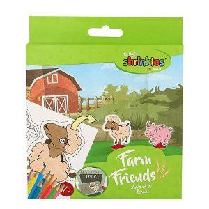 shrinkles farm friends mini pack