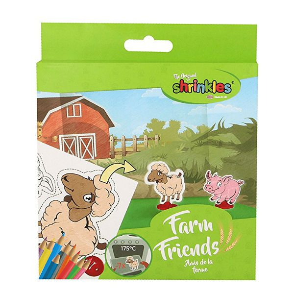 shrinkles farm friends mini pack