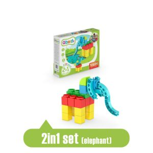 engino qboidz 2-in-1 elephant box