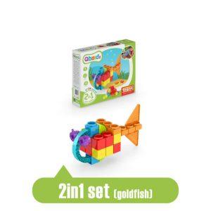 engino qboidz 2-in-1 goldfish box