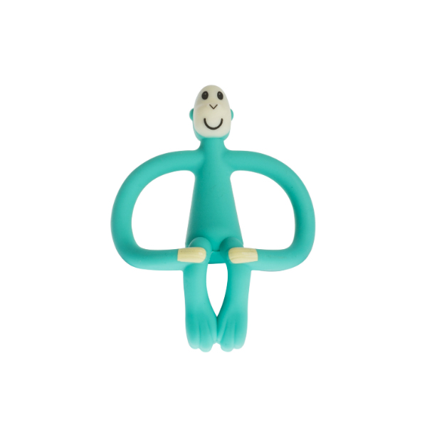Matchstick Monkey Teether Green