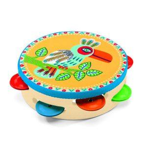 djeco DJ06005 animambo tambourine