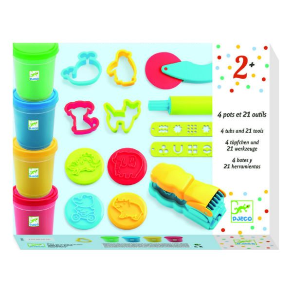 djeco DJ09755 introduction to play dough